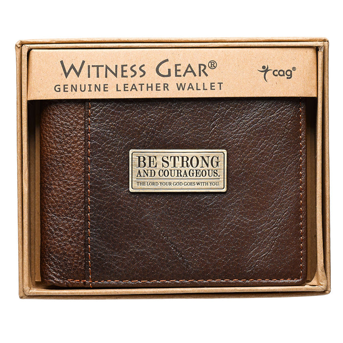 Wallet-Be Strong & Courageous
