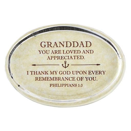 Paperweight-Granddad-Loved & Appreciated