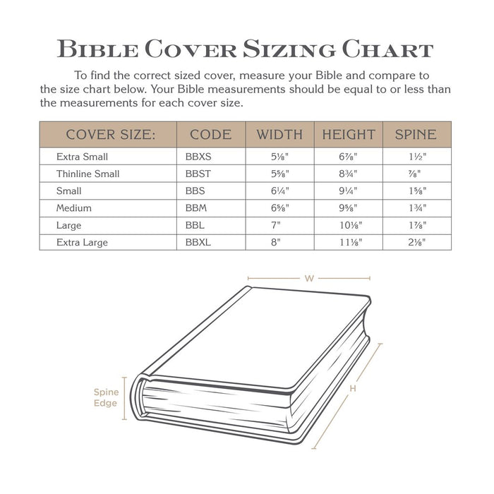 Bible Cover-Canvas Value- Blue