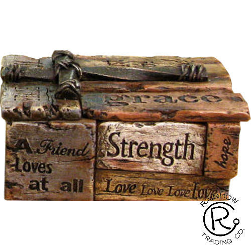 Trinket Box- Love, Hope, Faith