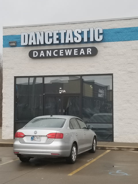 Dancetastic Dancewear in New Albany Indiana.