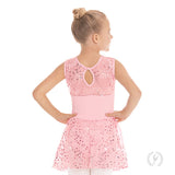 Eurotard Girls Enchanted Dreams Sequin Mesh Dance Dress - Dancetastic Dancewear