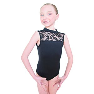 HDW Dancewear Child Lace Turtleneck Leotard - Dancetastic Dancewear