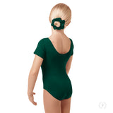 Eurotard Girls Cotton Short Sleeve Leotard - Dancetastic Dancewear