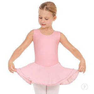 Eurotard Girls Tank Dance Dress with Cotton Lycra - Dancetastic Dancewear