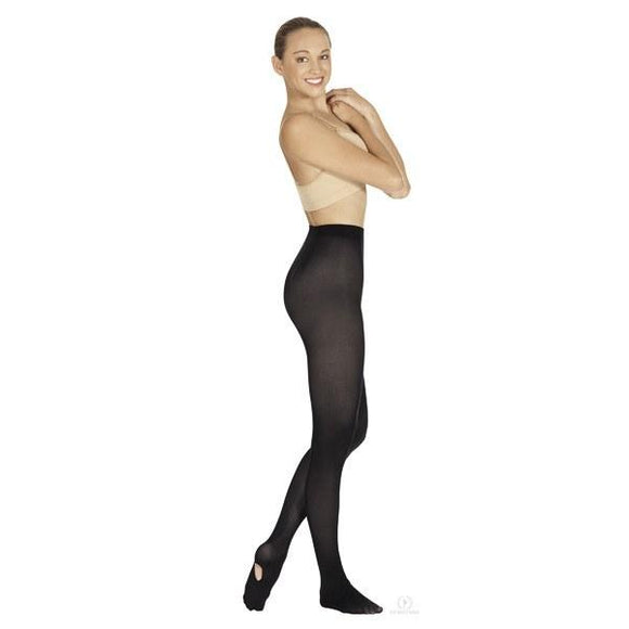 Eurotard Non-Run Adult Convertible Tights - Dancetastic Dancewear