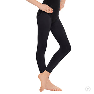 Eurotard Girls Non-Run Footless Tights - Dancetastic Dancewear