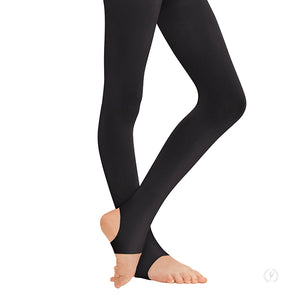 Eurotard Womens Non-Run Stirrup Tights - Dancetastic Dancewear