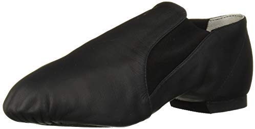 Bloch Dance Women's Elasta Bootie Leather and Elastic Split Sole Jazz Shoe - Dancetastic Dancewear