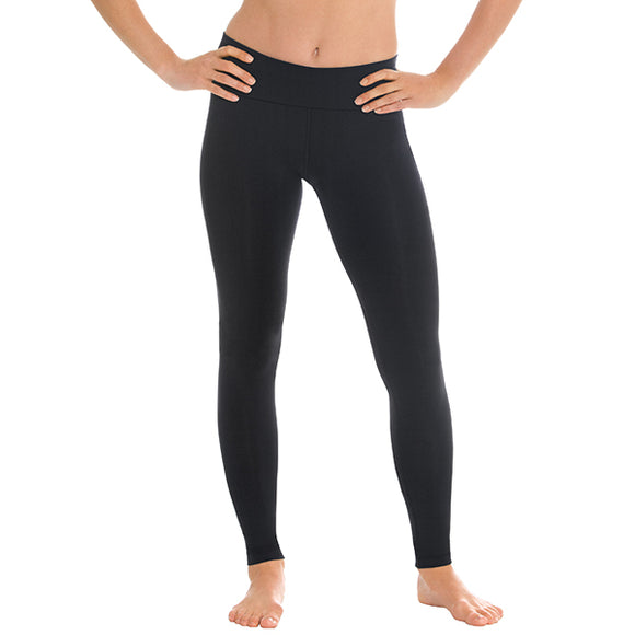 Eurotard Womens Performance Tactel® Smoothing Leggings - Dancetastic Dancewear