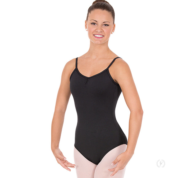 Eurotard Womens Pinch Front Camisole Leotard with Tactel® Microfiber - Dancetastic Dancewear