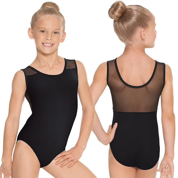 Eurotard Girls Mesh Back Tank Leotard - Dancetastic Dancewear
