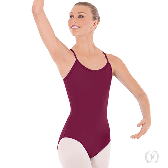 Eurotard Womens Adjustable Camisole Leotard with Tactel® Microfiber - Dancetastic Dancewear