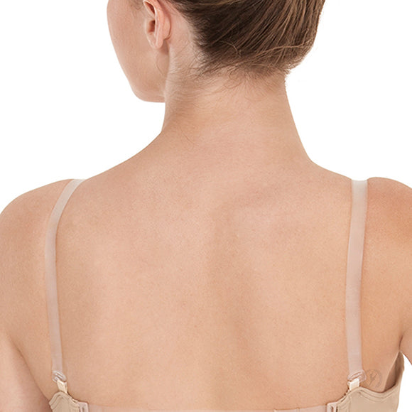 Eurotard Clear Adjustable Shoulder Replacement Bra Straps - Dancetastic Dancewear
