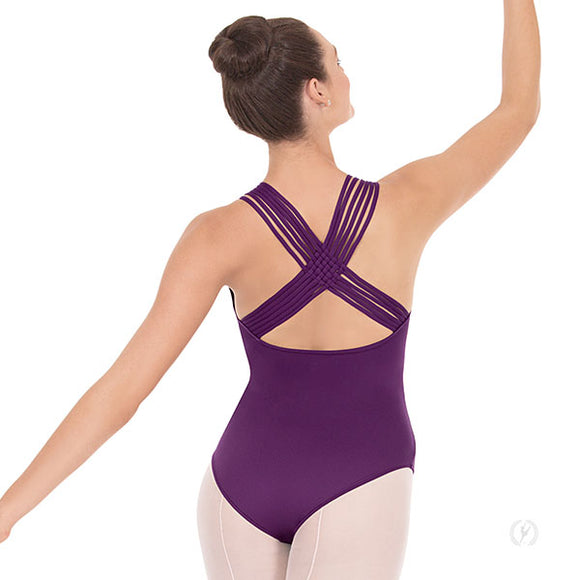 Eurotard Womens Lattice Back Leotard - Dancetastic Dancewear