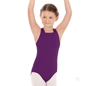 Eurotard Girls Lattice Strappy Back Leotard - Dancetastic Dancewear