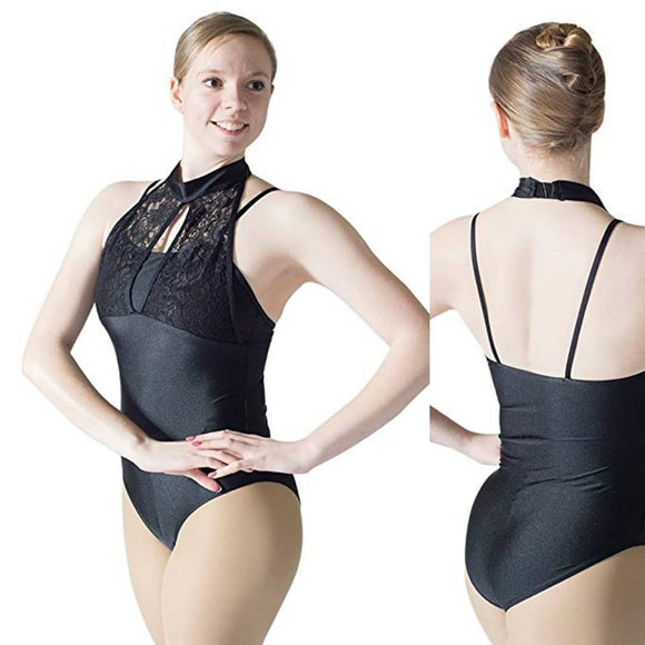 HDW Dancewear Mock Halter Adult Leotard - Dancetastic Dancewear