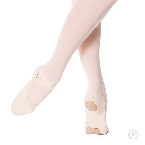 Eurotard Adult Assemble Pink Canvas Ballet Shoes - Dancetastic Dancewear