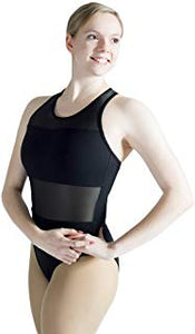 HDW Dancewear Adult Mesh Detail Leotard - Dancetastic Dancewear
