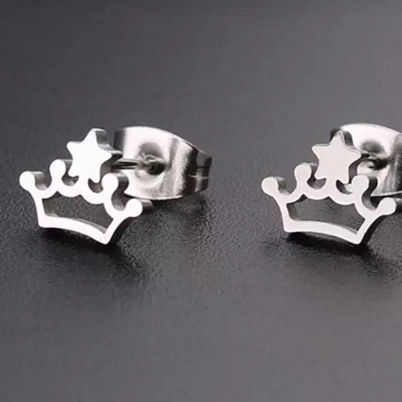 Princess Crown Earrings - Dancetastic Dancewear