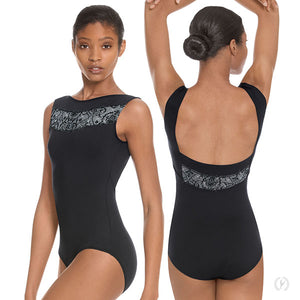 Eurotard Womens Hint of Whimsy Tank Leotard - Dancetastic Dancewear