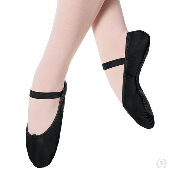 Online Only***Eurotard Adult Tendu Ballet Shoes-White or Black - Dancetastic Dancewear