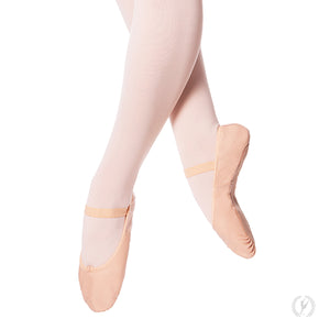 Eurotard Adult Tendu Leather Ballet Shoes-Pink - Dancetastic Dancewear