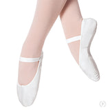 Eurotard Adult Tendu Ballet Shoes-White or Black - Dancetastic Dancewear