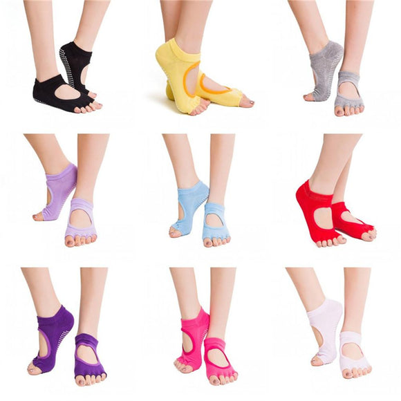 Five Toe Dance/Yoga Socks - Dancetastic Dancewear