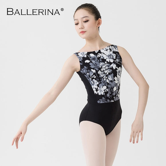 Adult Print Leotard - Dancetastic Dancewear