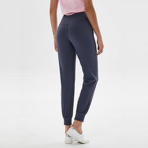 High Waist Squatproof Joggers with Two Side Pocket - Dancetastic Dancewear