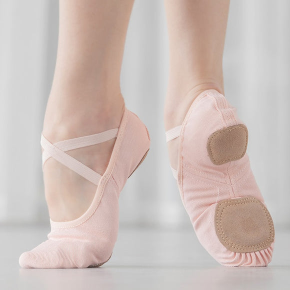 Stretch Canvas Ballet Shoes - Dancetastic Dancewear