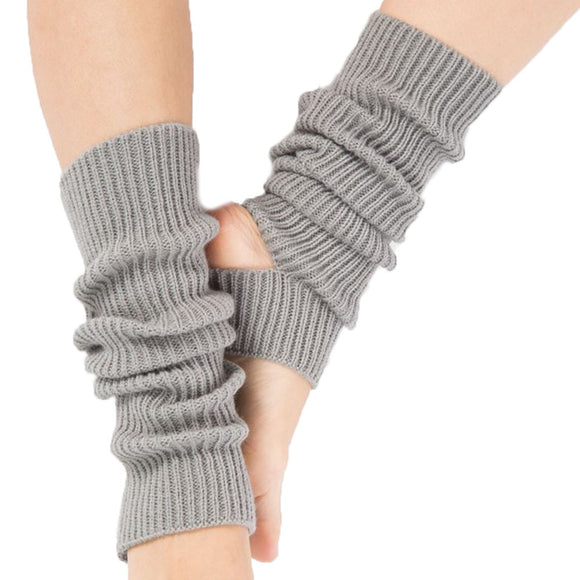 Girls Knitted Leg Warmers - Dancetastic Dancewear