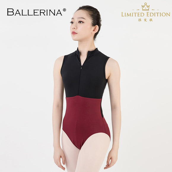 Two Tone Mesh Back Leotard - Dancetastic Dancewear