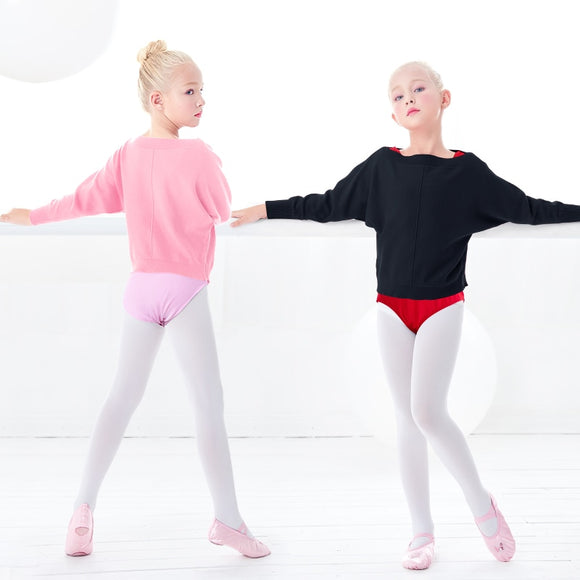 Girls Batwing Warm Up Sweater - Dancetastic Dancewear
