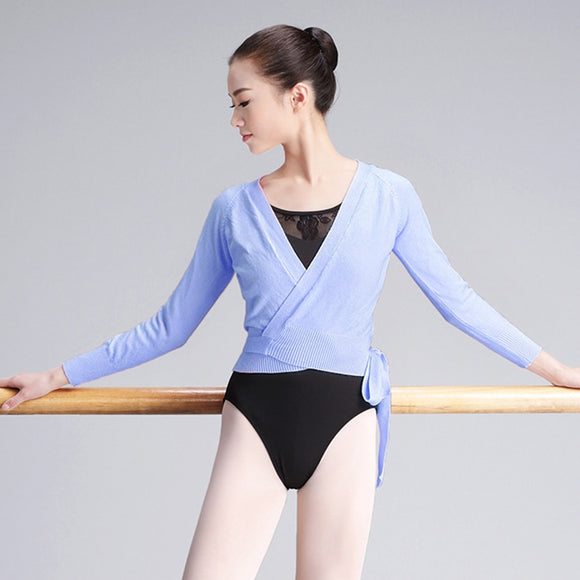 Adult Ballet Wrap Cardigan Sweater - Dancetastic Dancewear