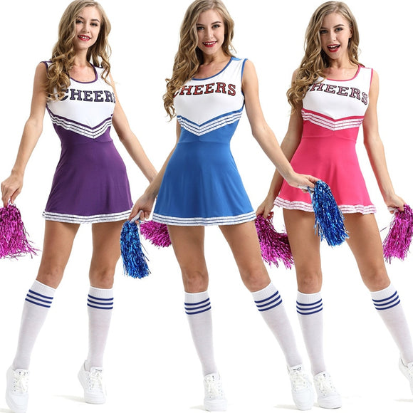 Girls Cheerleader Dance Costume - Dancetastic Dancewear