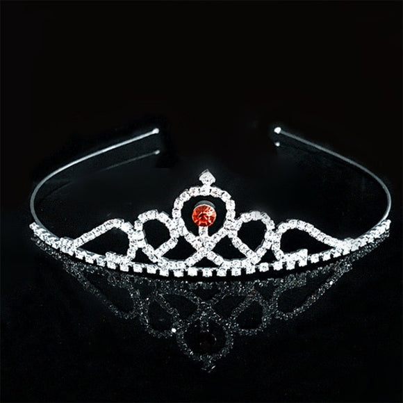 Crystal Tiara Hair Jewelry - Dancetastic Dancewear