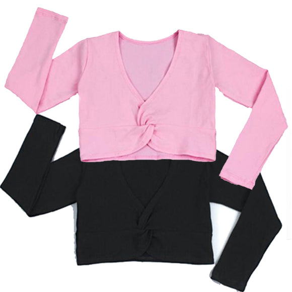 Girls Cotton Warm Up Sweater - Dancetastic Dancewear
