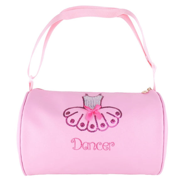 Girls Embroidered Ballet Bag with Sequins - Dancetastic Dancewear