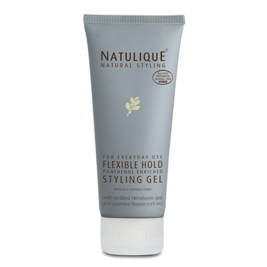 Natulique flexible hold styling gel (100ml)