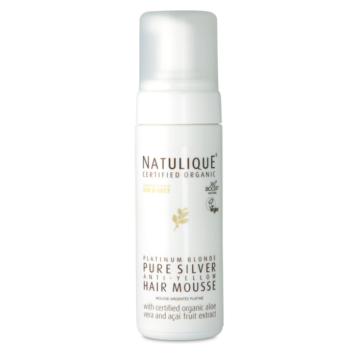 Natulique pure silver hair mousse (150ml)