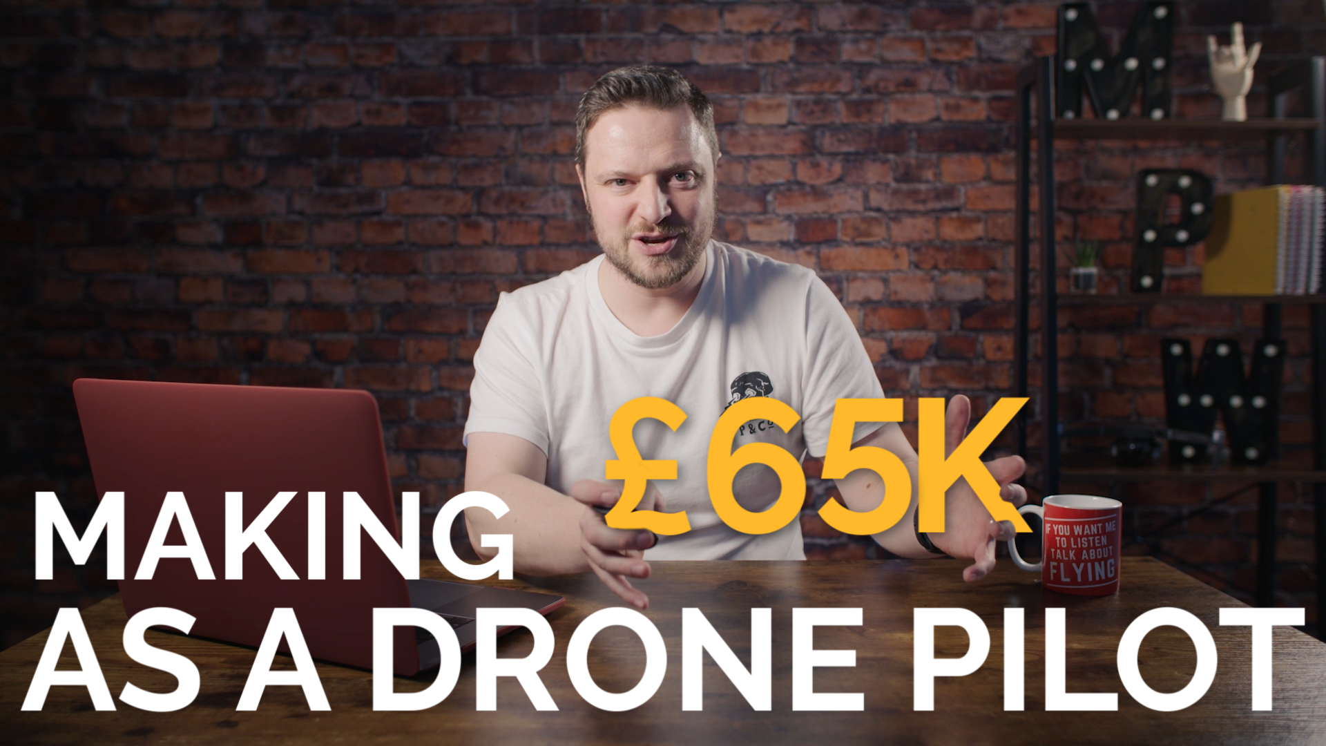 Can you REALLY earn £65k as a Professional Drone Pilot?