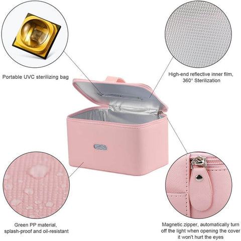 Portable LED UVC Sanitizer Box
