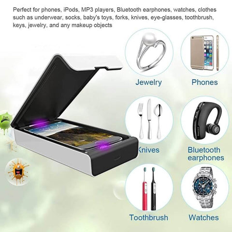 UV Jewelry Phone Sanitizer Box