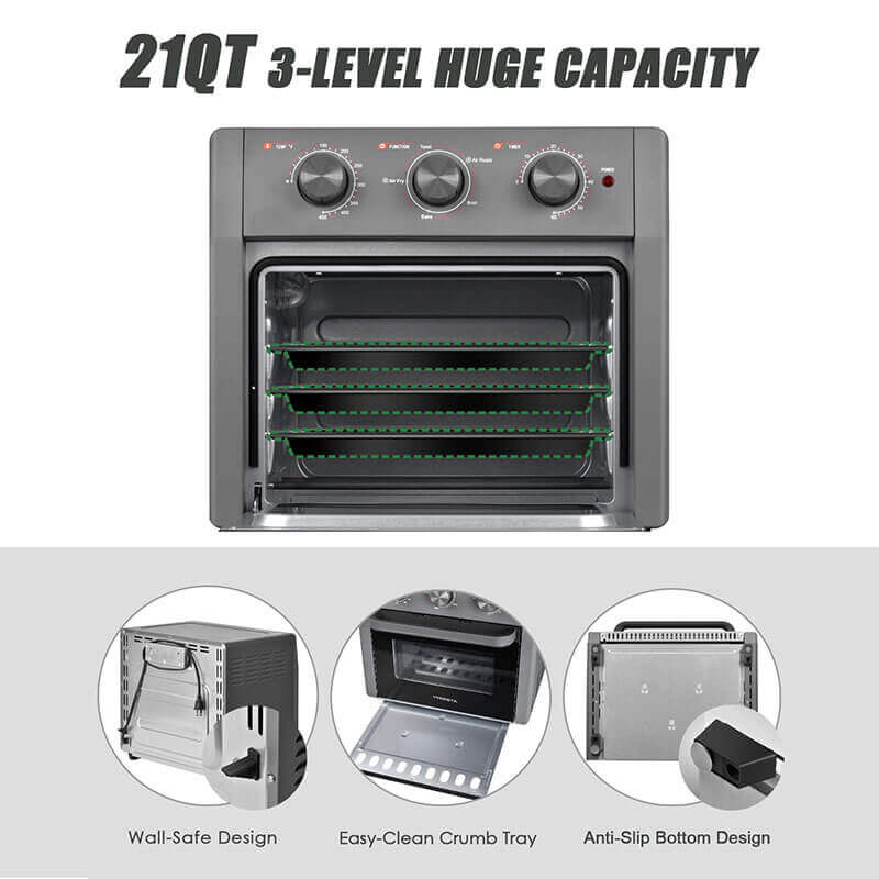 Air Fryer Toaster Oven Pro 5-IN-1