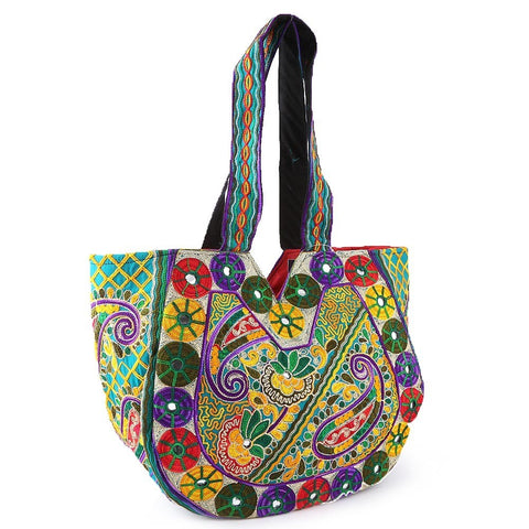 women traditional design handbag