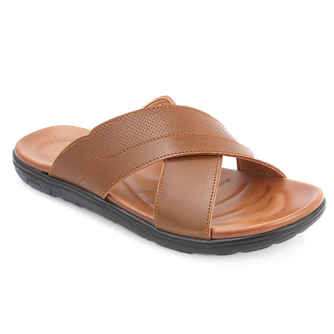 Men's Slippers (003) - Brown