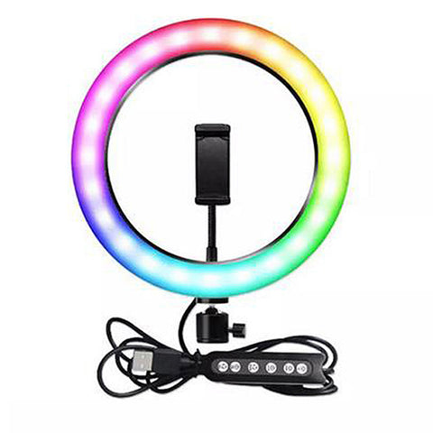 Selfie Ring Light Multi 26cm - White
