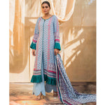 Rangreza Printed Lawn 3 Piece Un-Stitched Suit Vol 2 - 2